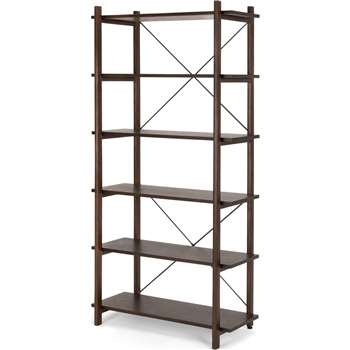 Gino Shelves, Dark Stain Ash (180 x 92cm)