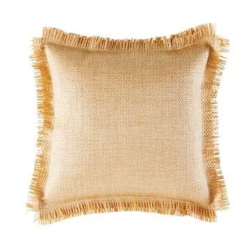 GIORGIO Ochre Woven Outdoor Cushion (40 x 40cm)