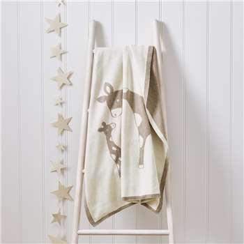 Giraffe Baby Blanket (H75 x W100cm)