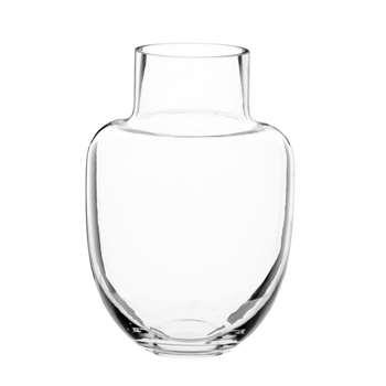 Glass Demijohn Vase (H20 x W14 x D14cm)