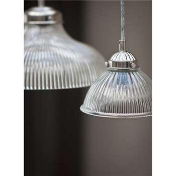 Glass Pendant Petit Paris Light (15 x 17cm)
