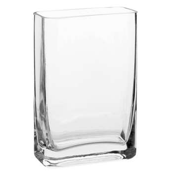 Glass Vase (H15 x W10 x D5cm)