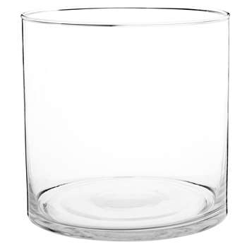 Glass Vase (H15 x W15 x D15cm)