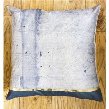 Gold Concrete Cushion (H40 x W40cm)