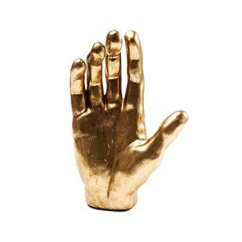 Gold hand figurine (35 x 23cm)