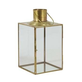 Gold Lantern (H31 x W17 x D17cm)