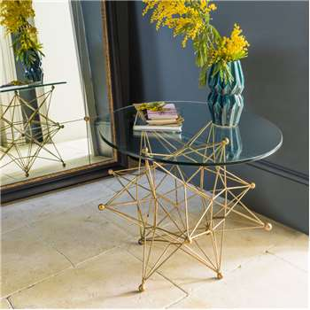 Gold Star Table (45 x 55cm)