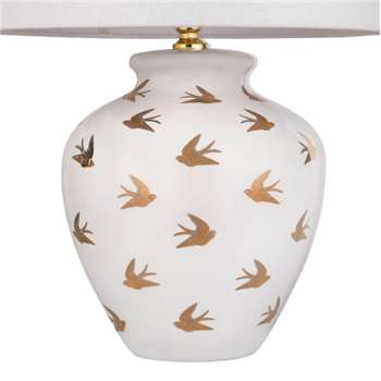 Gold Swallow Small Lamp Base (33 x 24cm)