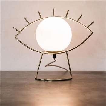 Golden Eye Lamp (H29 x W36 x D16cm)