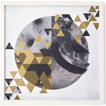 Golden Perspective, Framed Print (50 x 50cm)