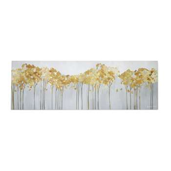 Golden Trees Canvas (30 x 90cm)