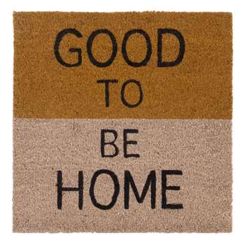 GOOD Printed Doormat (45 x 45cm)