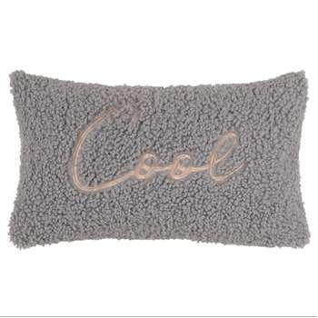 GOOD THINGS - Printed Blue Cushion Cover (H30 x W50cm)