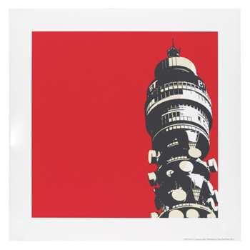Gpo Tower Print 50 x 50cm print by Jayson Lilley