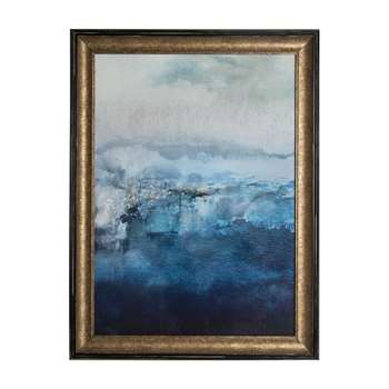 Pictures paintings and prints graham brown blue ink abstract framed print wall art 80 x 60cm gumiabroncs Image collections