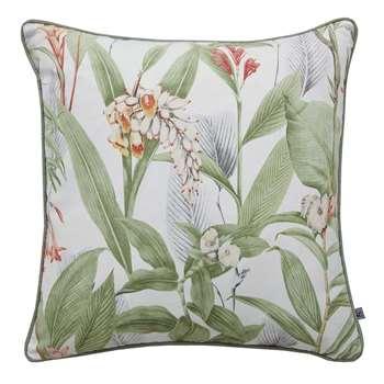 Graham & Brown Botanical Green Cushion (H45 x W45cm)