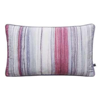 Graham & Brown Chelsea Stripe Pink Cushion (H30 x W50cm)