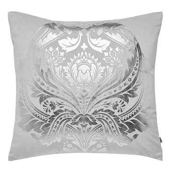 Graham & Brown Desire Silver Cushion (H45 x W45cm)
