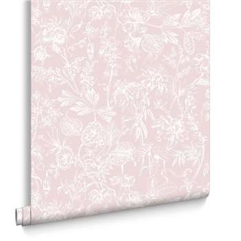 Graham & Brown Stroma Carnation Wallpaper (H1000 x W52cm)
