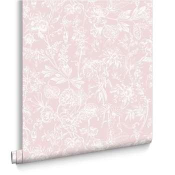 Graham & Brown Stroma Carnation Wallpaper (H1000 x W52cm)
