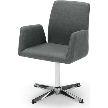Grant Office Chair, Anchor Grey (86 x 56cm)