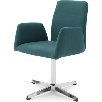 Grant Office Chair, Mineral Blue (H86 x W56 x D59cm)