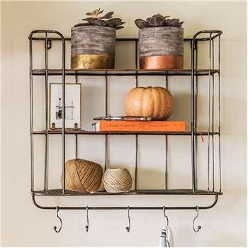 Granville Metal Shelf Unit (60 x 58cm)