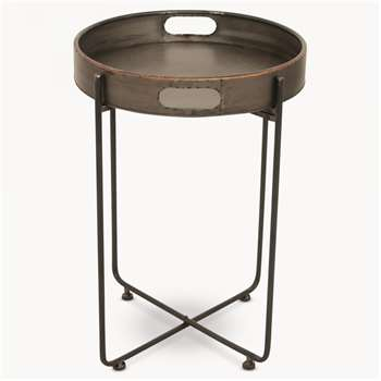 Granville Metal Side Table (64 x 48cm)