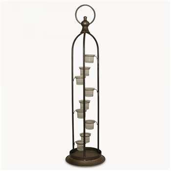 Granville Tall Metal Lantern (83 x 22.2cm)
