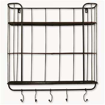 Granville Tall Metal Shelf Unit (58 x 60cm)