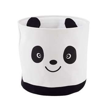 GRAPHIKIDS Fabric Panda Storage Basket (40 x 42cm)