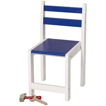 Great Little Trading Co Pied Piper Toddler Chair, Blue (H55 x W30 x D30cm)
