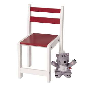 Great Little Trading Co Pied Piper Toddler Chair, Red (H55 x W30 x D30cm)