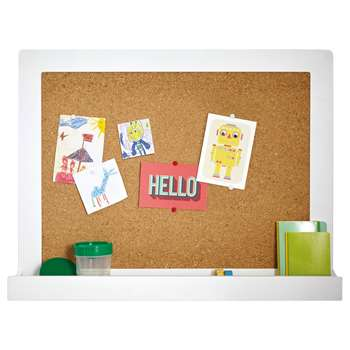 Great Little Trading Co Pin It Up Extra Large Cork Noticeboard (H50 x W70 x D10cm)