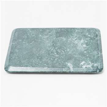 Green Marble Serving Platter - Green Marble (22 x 33cm)