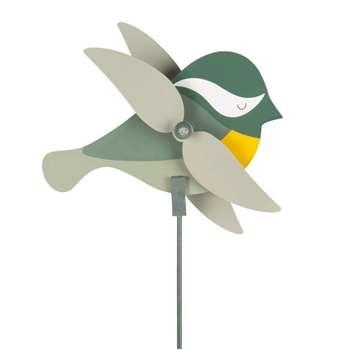 Green Metal Swallow Weather Vane (H15 x W58cm)