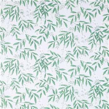 Greendale Grey Green Wallpaper