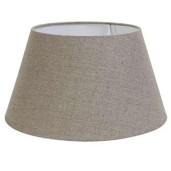 Grey Loom Lampshade (H19 x W35 x D35cm)