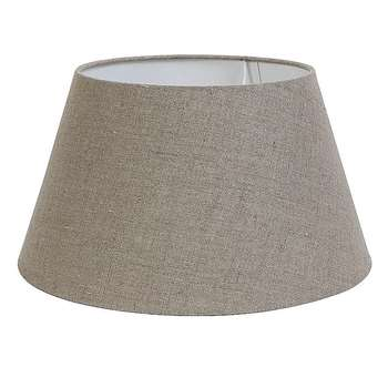 Grey Loom Lampshade Medium (H22 x W40 x D40cm)