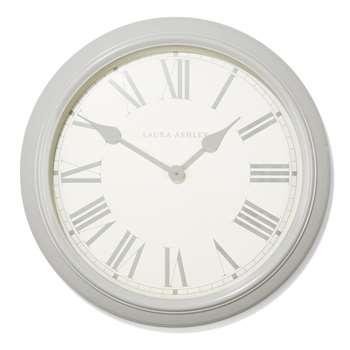 Grey Oversized Gallery Clock (Diameter 62cm)