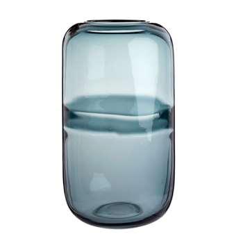 Grey Tinted Glass Vase (H33 x W19 x D19cm)
