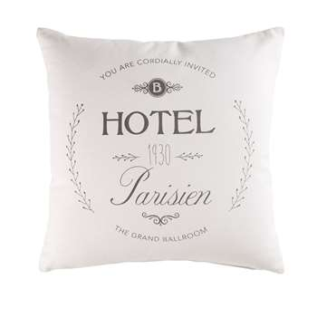 GROOM Cotton Cushion (H45 x W45cm)