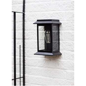 Grosvenor Light in Matt Black - Steel (24.5 x 17cm)