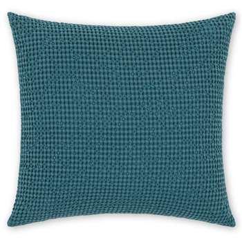 Grove 100% Cotton Cushion, Aegean Blue (H50 x W50cm)