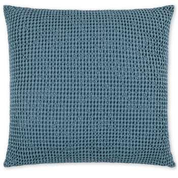 Grove 100% Cotton Cushion, Blue Slate (H50 x W50cm)