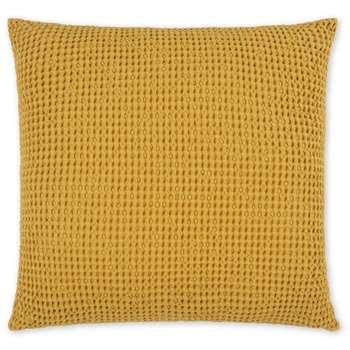 Grove 100% Cotton Cushion, Mustard (H50 x W50cm)