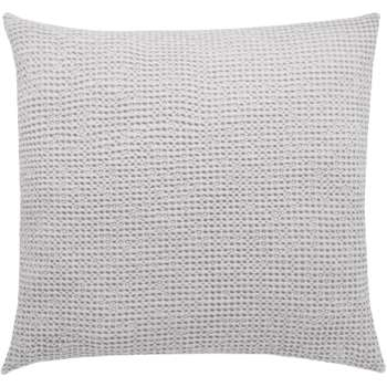 Grove 100% Cotton Cushion, Silver Grey (50 x 50cm)