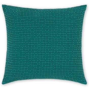 Grove 100% Cotton Cushion, Storm Green (H50 x W50cm)