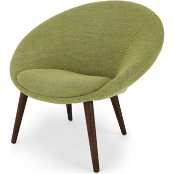 Grover Accent Chair, Revival Olive (H86 x W94 x D78cm)