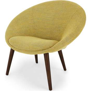 Grover Accent Chair, Revival Yellow (H86 x W94 x D78cm)